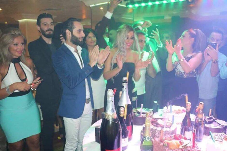 حلو الفن – النجمة سيلفا قبلان تحتفل في عيد ميلادها وسط الأصدقاء والصحافة