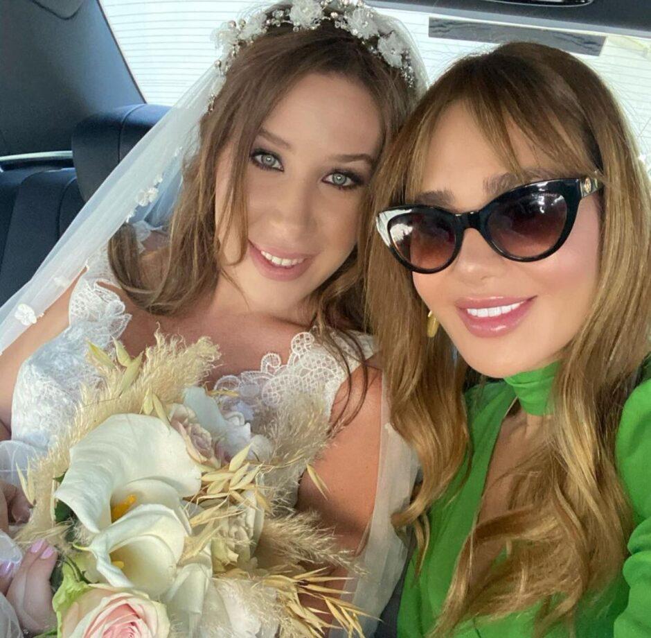 حلو الفن – رامي عياش وزوجته يحتفلان بزواج الفنانة سابين .. شاهد